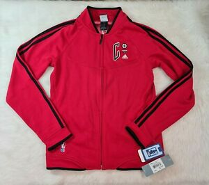 Women's NWT Adidas Chicago Bulls Track Jacket Size M Red
