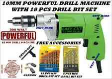 10MM POWERFUL DRILL MACHINE WITH 18 PCS DRILL BIT SET