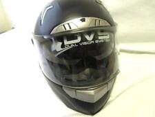 Iv2 Black Full Face Polycarbonate Motorcycle Helmet DOT Certified Size S