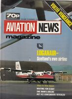 Aviation News Mag Loganair Scotland's Airline June 1984 092319nonr