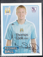 Merlin Football- 2008 Premier League Sticker No 345 - Michael Ball - Man City