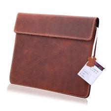 Leder Tablet Tasche für Samsung Galaxy Tab Active Etui Schutzhülle Beutel Braun