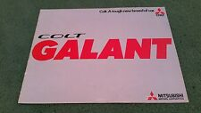 August 1974 / 1975 Model COLT Mitsubishi GALANT Saloon / Coupe / Estate BROCHURE