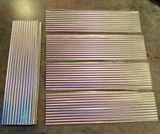 METAL ROOFING FOR SCRATCH BUILT MODEL RAILROAD TRAIN LAYOUTS //  CORRUGATED