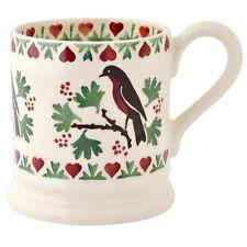 Emma Bridgewater Christmas Joy Robin 2016 1/2 Pint Mug Boxed