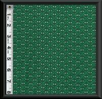 FABRIC QUILT Tiny Holly Leaves & Berries Christmas Craft 100% Cotton By 1/2 YARD