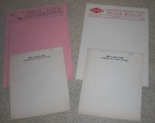 Goodyear Tire & Rubber Co. C. E. Lutz Elizabethtown PA Sinclair letterheads