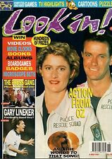 Look-In Magazine 4 May 1991     Police Rescue    Gary Lineker    The Press Gang