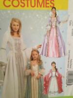 McCalls Sewing Pattern 5731 Misses / Ladies Princess Costumes Size S-XL Uncut