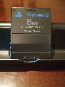 Sony PlayStation 2 8MB Memory Card - Black - SCPH-10020