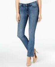 Buffalo David Bitton Faith Women's Straight Jeans Bright Blue Size 29 Macy's