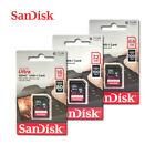 SanDisk Ultra Class10 UHS-I SD 16GB 32GB 64GB 80-100MB/s SDHC SDXC Memory Card