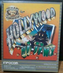 "Hollywood HI Jinx by Infocom Floppy Disk for IBM PC Rare 5.25"" Version Complete"