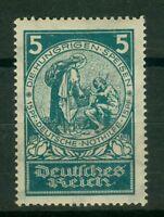 Deutsches Reich 351 , ** , * , o , - Nothilfe 1924