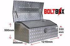 1210MM ALUMINIUM TOOLBOX L1210 X D600 X H500MM - Top Opening - 1210mm  QLD