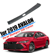 for 2019 2020 TOYOTA AVALON INNER REAR BUMPER SILL GUARD PLATE COVER TRIM CARBON