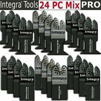 INTEGRA; 24PC Oscillating MultiTool Saw Blade fits Fein Multimaster Makita Bosch
