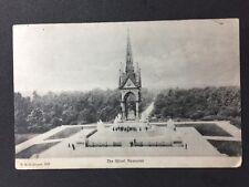 Vintage Postcard - London #A7 - RP Albert Memorial - FGO Stuart