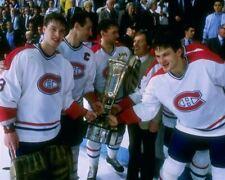 Patrick Roy, Bob Gainey Montreal Canadiens 8x10 Photo
