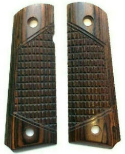 1911 Combat Rosewood Full Size Grips NEW ~ '21