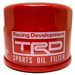 OEM Toyota TRD Oil Filter Fits Scion FRS Subaru BRZ Toyota 86 GT86 MS500-18001