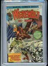 Werewolf by Night #37 CGC 6.5 OWTW Pages 3rd Moon Knight
