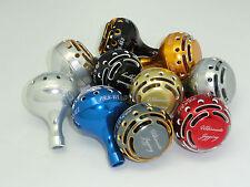 UJ PRK 45 type II knob FITS Shimano Stella Saragosa 18000 ~ 25000 SW reel Silver