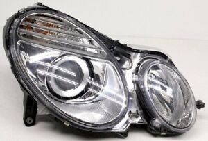 OEM Mercedes-Benz E-Class Right Passenger Side Halogen Headlamp Tab Replaced