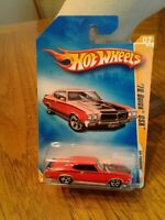 Hot Wheels '70 BUICK GSX Muscle Mania Red/Black Stripes Lot#GSX 008