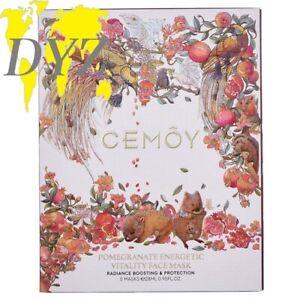 Cemoy Pomegranate Energetic Vitality Face Mask (28ml X 5 pcs)