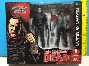 The Walking Dead Negan & Glenn B&W Black & White Exclusive 💥SHIPS WORLDWIDE💥