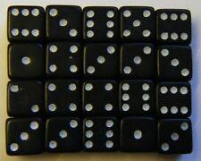 Poker e giochi di carte in plastica nera