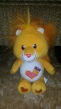 "Care Bears 8"" Brave Heart Lion Care Bear Cousin Stuffed Toy"