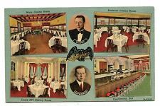 Vintage Postcard CHICAGO Restaurant L'AIGLON Downtown French Southern Seafood
