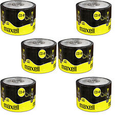 300 Maxell CD-R 80 Discs Recordable 700MB 80Min 6 x 50 Pack Shrink Wrap CDR80