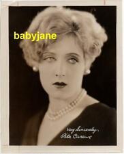 RITA CAREWE ORIGINAL 8X10 PHOTO 1920's EXHIBIT ARCADE CARD PROOF