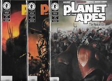 PLANET OF THE APES THE HUMAN WAR #1-#3 SET PHOTO COVERS (NM-)
