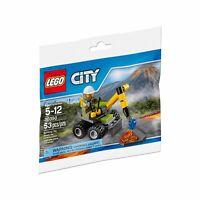 LEGO City Volcan Marteau-Piqueur 30350 Sac en Plastique Neuf Emballé