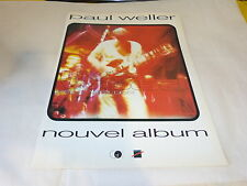 PAUL WELLER - LIVE WOOD!!!!!!!!!!!!!!PUBLICITE / ADVERT