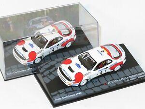 1/43 Repsol Toyota Celica Turbo 4wd  RACC Rally Catalunya 1992  C.Sainz / L.Moya