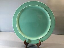 1 Of 10 Royal Copenhagen Denmark Green Fajance Ursula Charger Under Plate