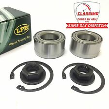 Front Wheel Bearing Kit Pair for FORD FOCUS MK 1 - With ABS - 1998 to 2005