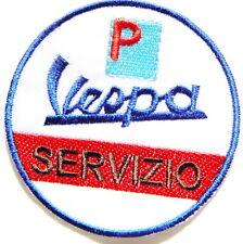 Vespa PIAGGIO Service MOD Scooter Patch Iron on Transfer T shirt Badge Emblem