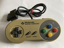 SNES Super Nintendo FAMICOM Official Original Controller Pad. Grade B YELLOWING