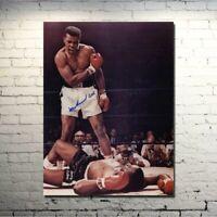 New Muhammad Ali Haj Boxing Boxer Champion Wall Art Poster Print on canvas Sport