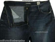 New Womens Marks & Spencer Blue Boyfriend Jeans Size 10 DEFECTS