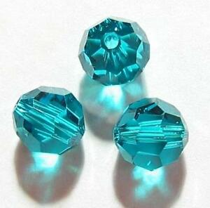 Swarovski Elements Crystal 5000 Round Faceted Bead Many Color & Size #4