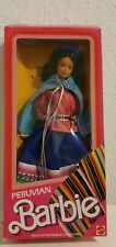 Barbie Peruvian # 2995 Dolls Of The World  Steffie Face 1985 UNBESPIELT