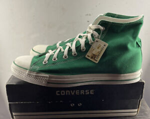 Chuck Taylor Ct As Hi Top GREEN VINTAGE GREEN HIGH TOP CONVERSE WITH BOX