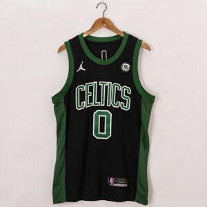 Boston Celtics Jason Tatum #0 Basketball Jersey City Green  Size S-XXL